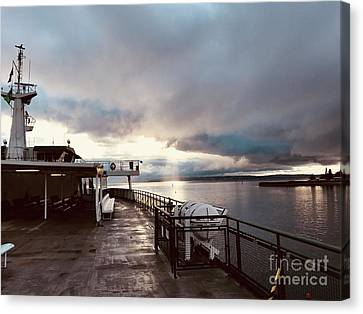 Ferry Morning Canvas Print