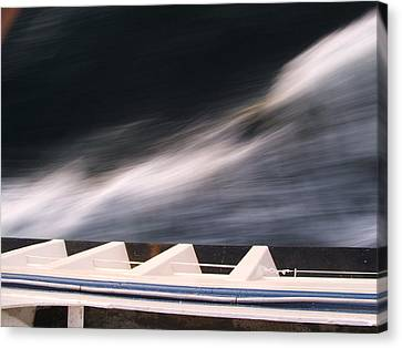 Ferry Wash Canvas Print by Mark Alan Perry