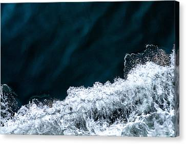 Ferry Waves Canvas Print