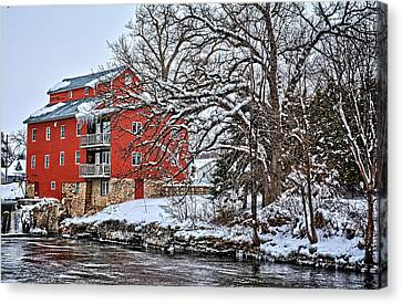 Fertile Winter Canvas Print by Bonfire Photography