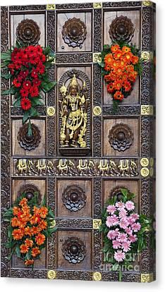 Festival Gopuram Gate Canvas Print