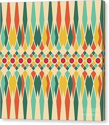 Festive Pattern Canvas Print