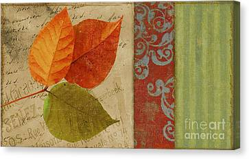 Feuilles II Canvas Print by Mindy Sommers
