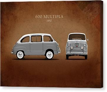 Fiat 600 Multipla 1957 Canvas Print
