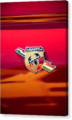 Fiat Abarth Emblem -ck1611c Canvas Print
