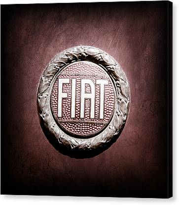 Fiat Emblem -1621ac Canvas Print