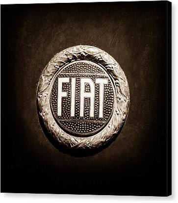 Fiat Emblem -1621s Canvas Print