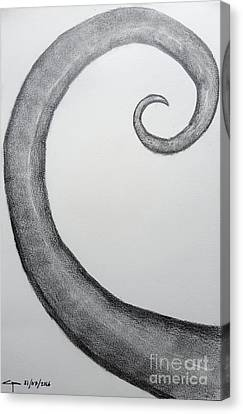 Fibonacci Spiral No.1 Canvas Print