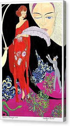 Rubaiyat Canvas Print - Fickle by Carolynn Fischel