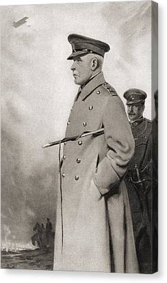 Field Marshal John Denton Pinkstone Canvas Print by Vintage Design Pics