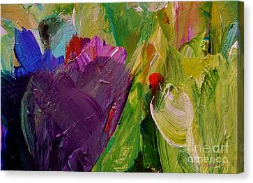 Bold Colors Canvas Print - Field Of Dreams by John Clark