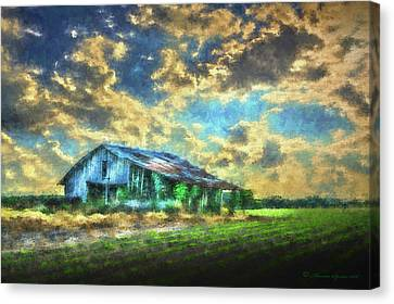Field Of Green Canvas Print by Marvin Spates