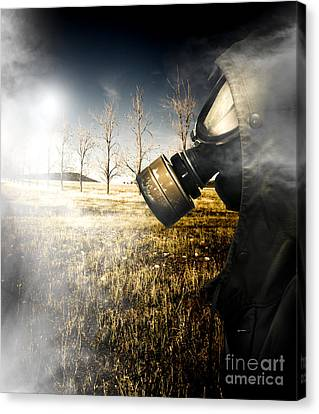 Sombre Canvas Print - Field Of Terror by Jorgo Photography - Wall Art Gallery