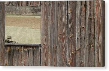 Fieldwindow #1 Canvas Print by Don Koester
