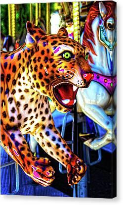 Fierce Cheetah Canvas Print