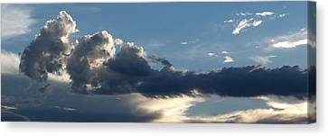 Fierce Cloud Canvas Print by Jera Sky