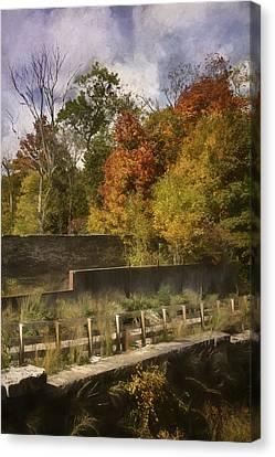 Fiery Canvas Print - Fiery Autumn by Scott Norris