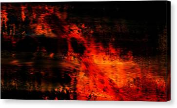 Fiery End Canvas Print by Dan Sproul