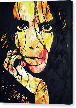 Fiery Tempered - By Diana Van Canvas Print by Diana Van