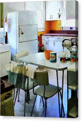 Fifties Kitchen Canvas Print