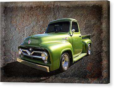 Fifties Pickup Canvas Print by Keith Hawley