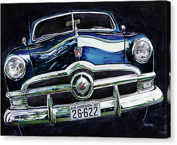 Fifty Ford Canvas Print by Mike Hill