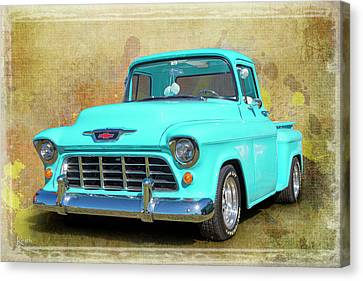 Fifty5 Stepside Canvas Print by Keith Hawley