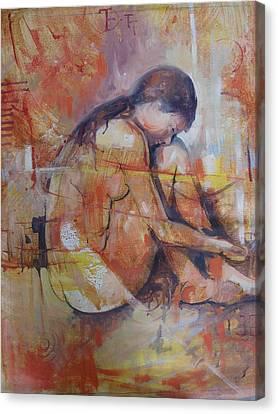 Figura Feminina Canvas Print
