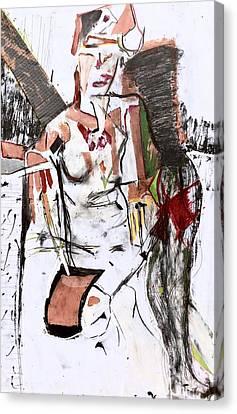 Cardboard Canvas Print - Figuring - Reflection by Steve Tannenbaum