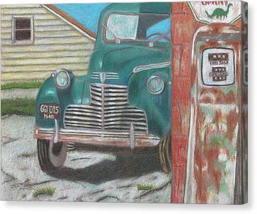 Fill 'er Up Canvas Print by Arlene Crafton