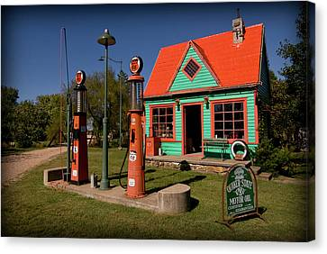 Fill 'er Up Canvas Print by Patricia Montgomery