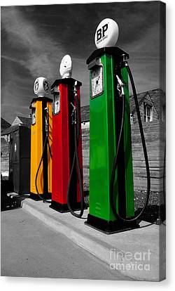 Fill Her Up Canvas Print by Rob Hawkins