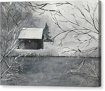 Filly's Pond Canvas Print