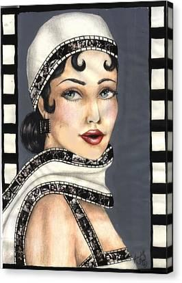 Film 2 Canvas Print by Scarlett Royal