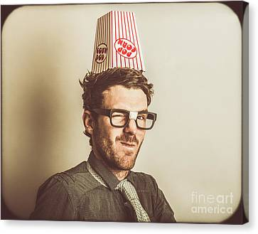 Film Critic Nerd Canvas Print by Jorgo Photography - Wall Art Gallery