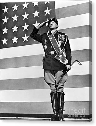 Film: Patton, 1970 Canvas Print by Granger