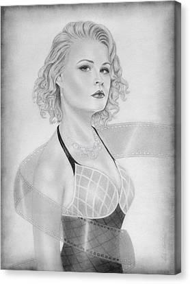 Film Star Canvas Print by Nicole I Hamilton