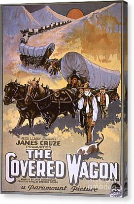 Film: The Covered Wagon Canvas Print by Granger