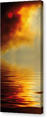 Filtered Sun Canvas Print by Jerry McElroy