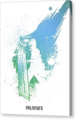 Final Fantasy Canvas Prints Page 4 Of 5 Fine Art America
