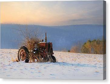 Final Resting Place Canvas Print by Lori Deiter