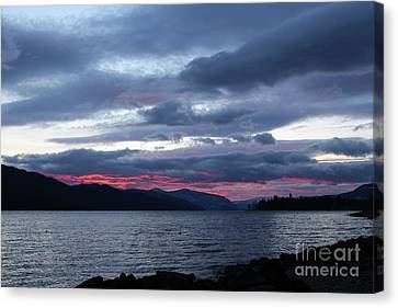 Final Touch Canvas Print by Victor K