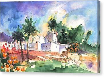 Cortijo Canvas Print - Finca In Nijar by Miki De Goodaboom