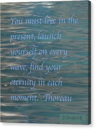 Find Your Eternity Canvas Print