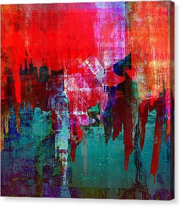 Atlantis Canvas Print - Finding Atlantis  by Jen Mckenzie