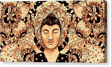 Finding Peace 4 Canvas Print by Helena Tiainen