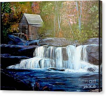 Finding The Living Waters Original Canvas Print