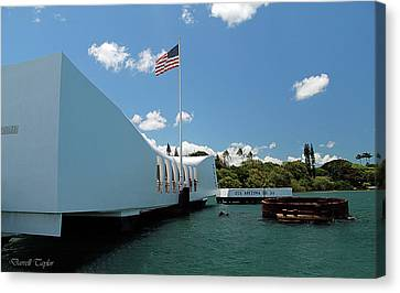 Fine Art America Pic 132 Pearl Harbor Canvas Print by Darrell Taylor