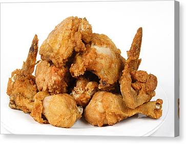Fine Art Fried Chicken Food Photography Canvas Print by James BO  Insogna