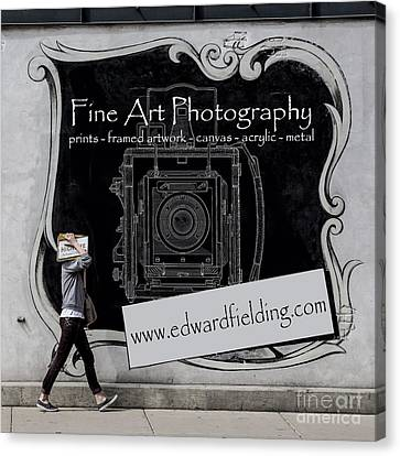Fine Art Photography Canvas Print by Edward Fielding